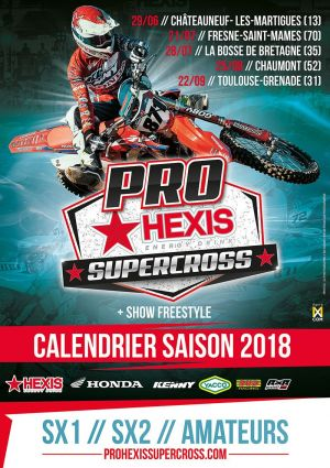 affiche pro hexis supercross 2017