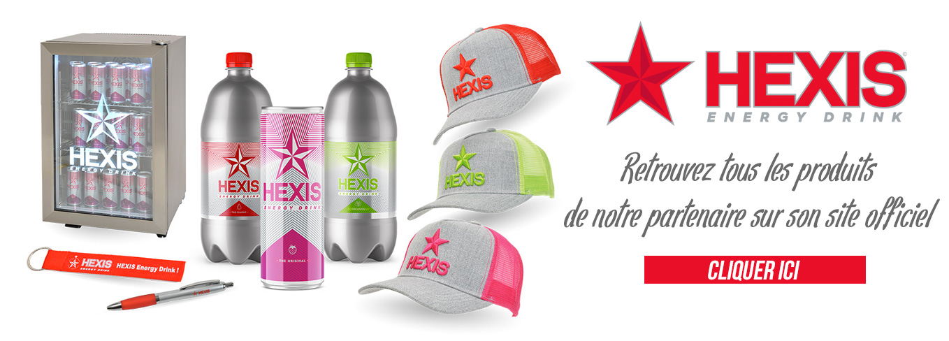 hexis energy drink : la boutique officielle